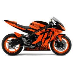 Design Yamaha R6 Monster Orange