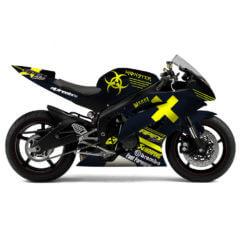 Design Yamaha R6 Petrol Hazard