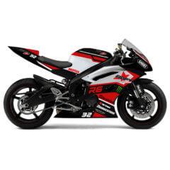 Design Yamaha R6 Stricte Red
