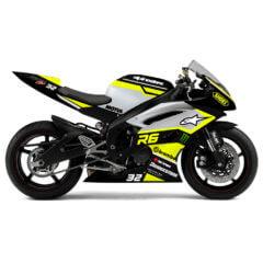 Design Yamaha R6 Stricte Yellow