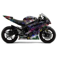 Full Wrap Yamaha R6 Grafitti
