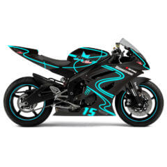 Full Wrap Yamaha R6 Neon