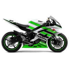 Design Yamaha R6 Green Day