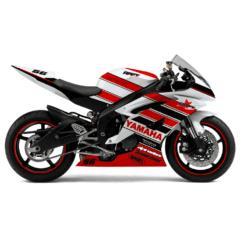 Design Yamaha R6 Red Day