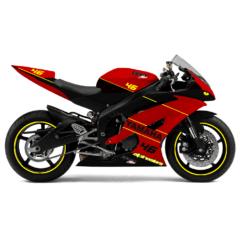 Design Yamaha R6 Veloce