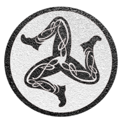 Sticker Isle of Man - Track Ring