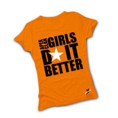 T-shirt Girls Do It Better