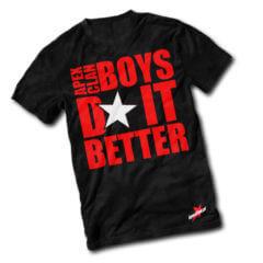 T-shirt Boys Do It Better
